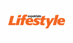The logo of the expatriate lifestyle