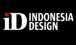 Id Indonesia Design logo with the black background