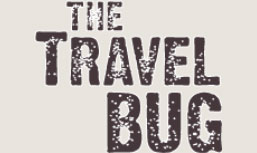 The travel bug logo