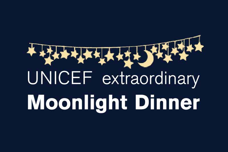 Moonlight Dinner - Unichef extraordinary