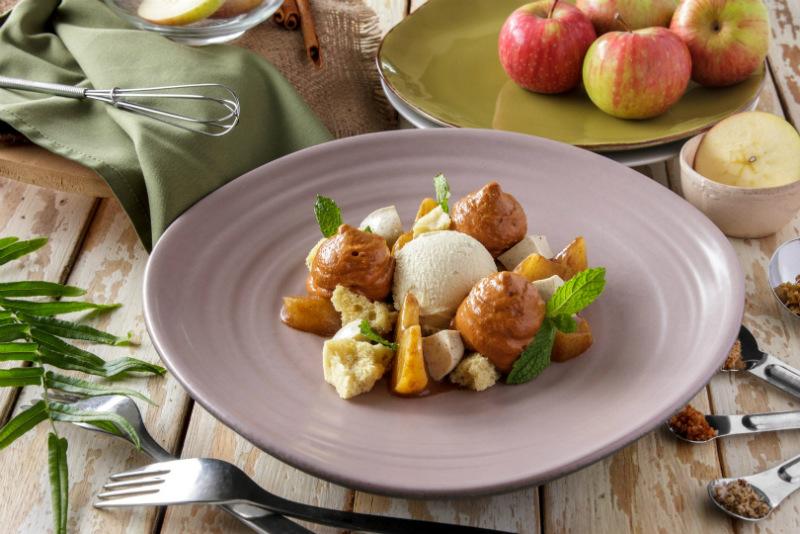 a tasty food presented in Cuca Bali restaurant