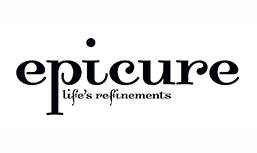 the logo for epicure life's refinements