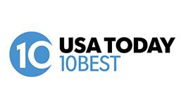 USA Today-10 best restaurants logo
