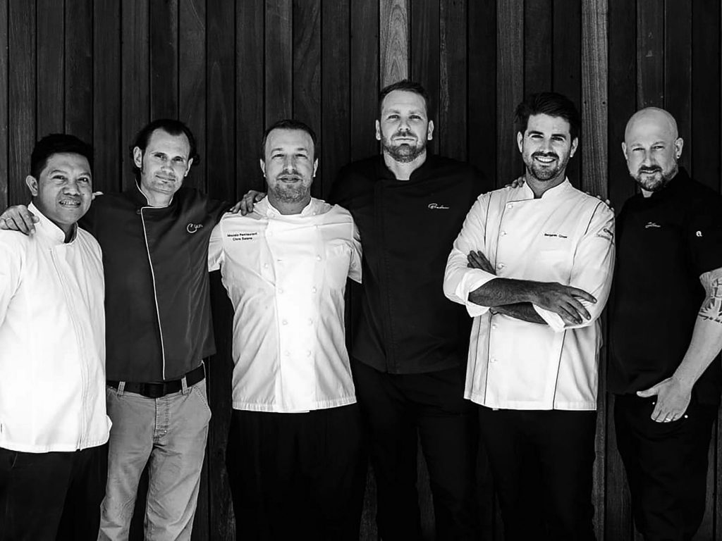 a solid and compact team of Cuca Bali restaurant