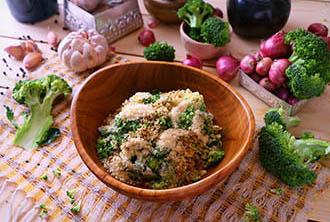 healthy Brocooli Cesar at Cuca bali