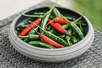 Chili for satay