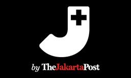 Big letter J - by TheJakartaPost-black background