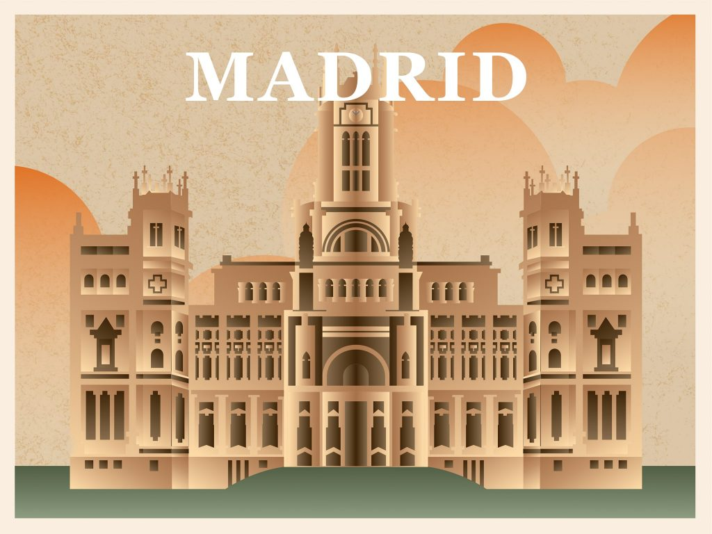 The icon for Madrid