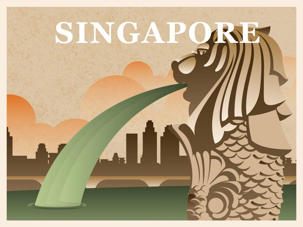 The icon for singapore